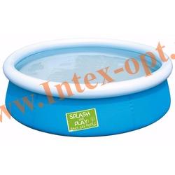 BestWay 57241 Бассейн надувной 152х38 см(без насоса) синий