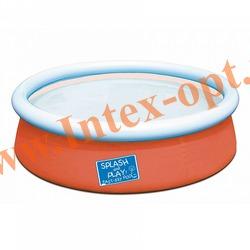 BestWay 57241 Бассейн надувной 152х38 см(без насоса) оранжевый