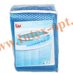 BestWay 58153 Тент солнечный для овальных каркасных бассейнов с надувным кольцом 732х366х122 см