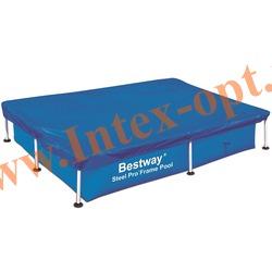 BestWay 58103 Тент для прямоугольных каркасных бассейнов 221х150х43 см