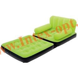 BestWay 67277 Зеленое кресло-трансформер 191х97х64 см (без насоса)