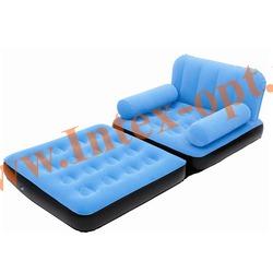 BestWay 67277 Голубое кресло-трансформер 191х97х64 см (без насоса)