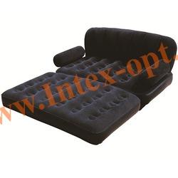 BestWay 67356 Двуспальная надувная кровать-трансформер 188х152х64см