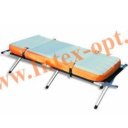 BestWay 67383 Кемпинговая раскладушка с надувным матрацем(матрасом) 193х77х42 см(ручной насос)