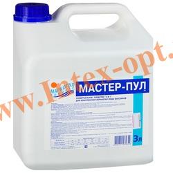 Маркопул Кемиклс (Россия) Мастер-пул 3л.(универсальное жидкое средство для комплексной обработки воды в плавательных бассейнах)