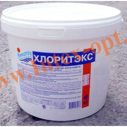 Маркопул Кемиклс (Россия) Хлоритэкс 4 кг., быстрорастворимый гранулированный органический препарат для ухода за водой плавательных бассейнов)