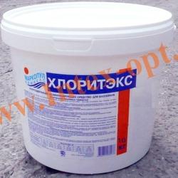 Маркопул Кемиклс (Россия) Хлоритэкс 9 кг., быстрорастворимый гранулированный органический препарат для ухода за водой плавательных бассейнов)