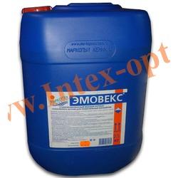 Маркопул Кемиклс (Россия) Эмовекс 20 л.(23 кг.)жидкий хлор для дезинфекции воды