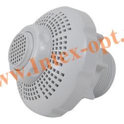 INTEX 11093 Соединитель сетчатый под шланг с резьбой 38 мм (с впускной насадкой, гайкой и прокладкой)