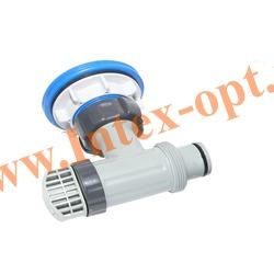 INTEX 11093 Плунжерный клапан в сборе с сетчатым соединителем на впускное отверстие