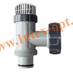 INTEX Плунжерный клапан в сборе с сетчатым соединителем на выпускное отверстие
