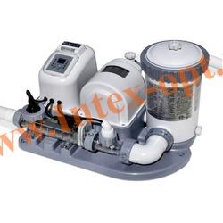 INTEX 54612 Хлор-генератор совмещенный с картриджным фильтр-насосом 7 570 л/ч(объемом до 56 800 л)