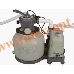 INTEX 28680/28682/56682 Хлор-генератор совмещенный с песочным фильтр-насосом 10 030 л/ч