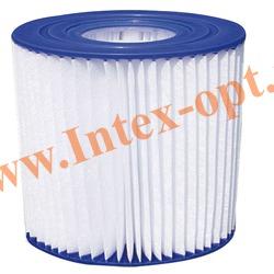 INTEX 29007 Сменный фильтр-картридж для фильтр-насоса (тип Н)