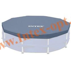 INTEX 28031(58411) Тент для круглых каркасных бассейнов 366 см