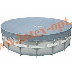INTEX 28041(57900) Тент для круглых каркасных бассейнов 549 см