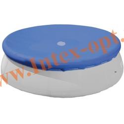 INTEX 28023(58920) Тент для круглых бассейнов с надувным кольцом (457 см)