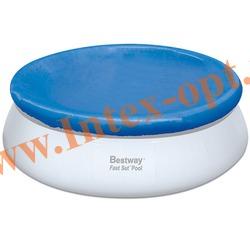 BestWay 58035 Тент для круглого бассейна с надувным кольцом (457 см)