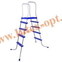 INTEX 28063(58975) Лестница с площадкой для плавательных бассейнов высотой 132 см