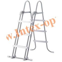 INTEX 28072(58969) Лестница для плавательных бассейнов высотой 91-107 см
