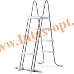 INTEX 28073 Лестница с площадкой для плавательных бассейнов высотой 122 см