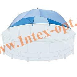 INTEX 28050 Зонт-навес для круглых плавательных бассейнов Ø 366-549 см