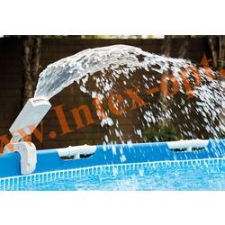 INTEX 28089 Фонтан-распылитель с многоцветной LED подсветкой для плавательных бассейнов
