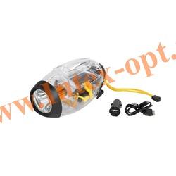 INTEX 68691 Кемпинговый аккумуляторный фонарь 5-в-1 LED