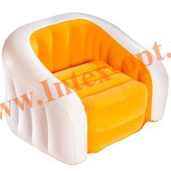 INTEX 68597 Надувное кресло детское 69х56х48 см(без насоса) оранжевое