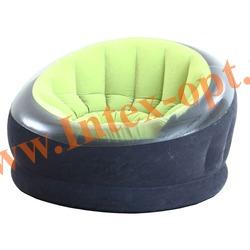 INTEX 68581/68582 Надувное кресло Empire Chair 112х109х69 см(без насоса)лайм