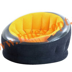 INTEX 68582 Надувное кресло Empire Chair 112х109х69 см(без насоса)оранжевое