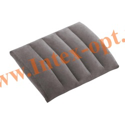 INTEX 68679 Надувная флокированная подушка Lumbar Cushion 43х33х10 см
