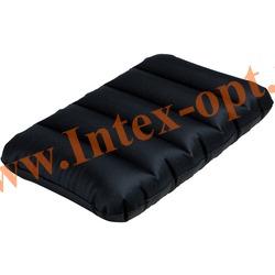 INTEX 68671 Надувная подушка Fabric Camping Pillow 43х28х9 см(темно-зеленая)