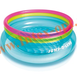 INTEX 48267 Надувной игровой центр-батут Jump-O-Lene 203х69 см(от 3 до 6 лет)