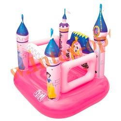 BestWay 91050 Надувной игровой центр-батут Disney замок принцессы 157х147х163 см(от 3 до 6 лет)