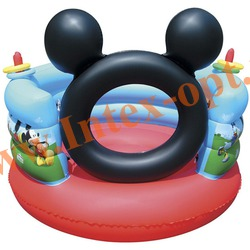 BestWay 91012 Надувной игровой центр-батут Disney Микки-Маус 152х130 см(от 3 до 6 лет)
