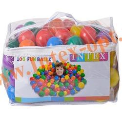 INTEX 49602 Мячики для игрового центра Small Fun Ballz 6,5 см(от 2 лет)