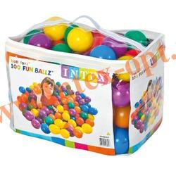 INTEX 49600 Мячики для игрового центра Fun Ballz 8 см(от 2 лет)
