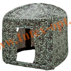 INTEX 48620 Надувной игровой центр Домик Camouflage Playhouse 152х152х147 см(без насоса)