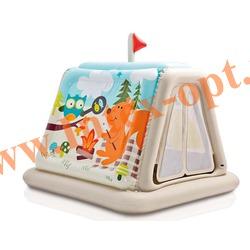 INTEX 48634 Надувной игровой центр Палатка 127х112х116 Animal Trails Indoor Play Tent (от 3 до 6 лет) без насоса