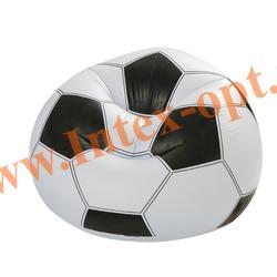 INTEX 68557 Надувное кресло Мяч 108х110х66 см Sports Fan Beanless Bag (без насоса)