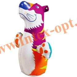 INTEX 44669 Надувная игрушка-неваляшка 3-D Bop Bags тигрёнок 98х44 см (от 3 лет) без насоса