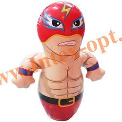 INTEX 44672 Надувная игрушка-неваляшка 3-D Bop Bags рестлер 91х72 см (от 3 лет) без насоса