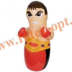 INTEX 44672 Надувная игрушка-неваляшка 3-D Bop Bags боксёр 86х51 см (от 3 лет) без насоса