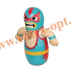 INTEX 44672 Надувная игрушка-неваляшка 3-D Bop Bags рестлер 91х66 см (от 3 лет) без насоса