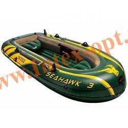 INTEX 68349 Трёхместная надувная лодка Seahawk-3 295х137х43см(без насоса и вёсел)