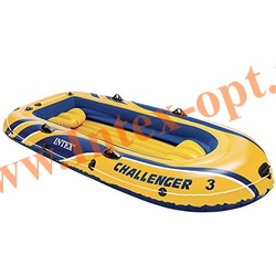 INTEX 68369 Трёхместная надувная лодка Challenger-3 295х137х43см(без насоса и весел)