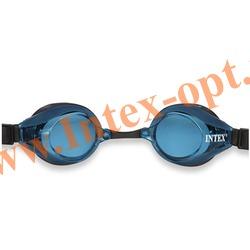 INTEX 55691 Очки для плавания Pro Racing Goggles (от 8 лет)синие