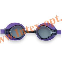 INTEX 55691 Очки для плавания Pro Racing Goggles (от 8 лет)фиолетовые