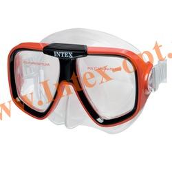 INTEX 55974 Маска для плавания Reef Rider Masks (от 8 лет)красная